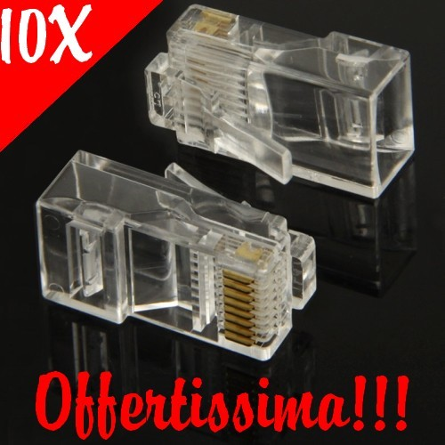 Plug Ethernet Rj45