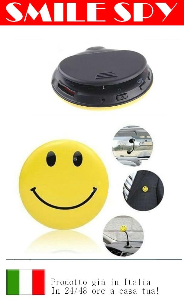 Mini Smile spia con microcamera HD Formato video AVI
