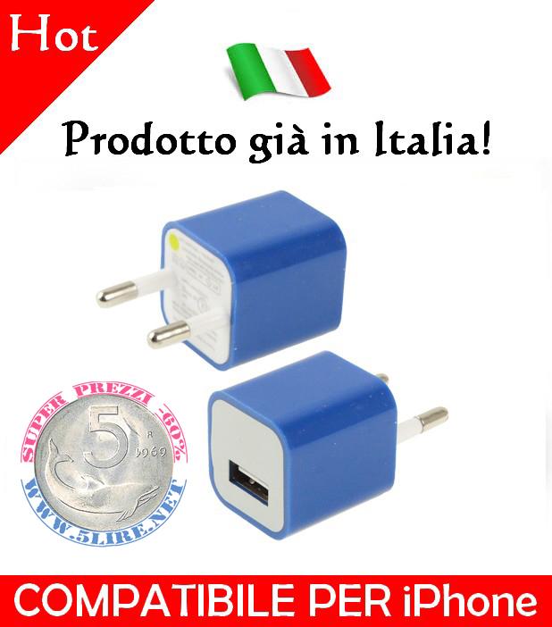 apple caricabatterie iphone 5 prezzo
