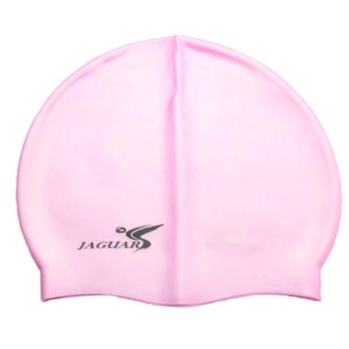 Cuffia piscina per nuoto rosa in silicone Bisex con astuccio