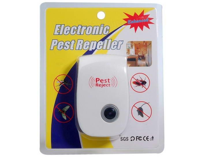 Pest Reject funziona contro zanzare topi