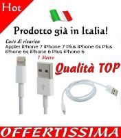 Cavo ricarica iPhone 7 e dispositivi Apple
