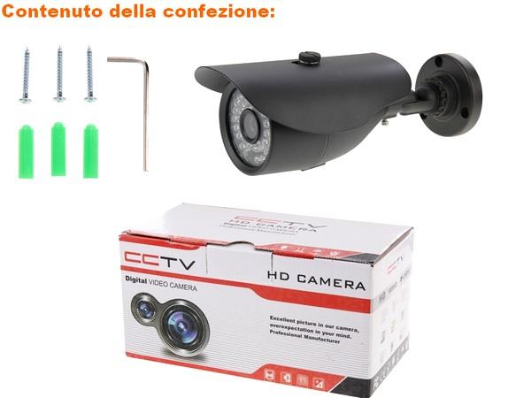 video sorveglianza telecamera