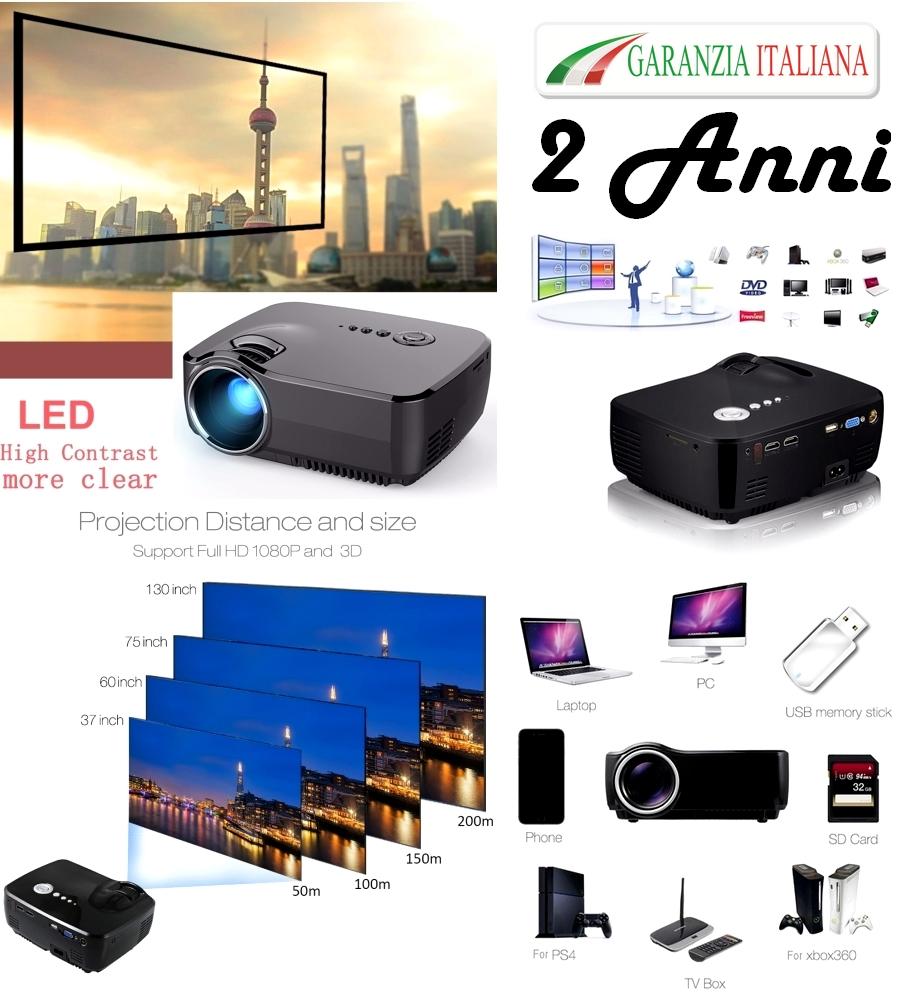 Videoproiettore Led