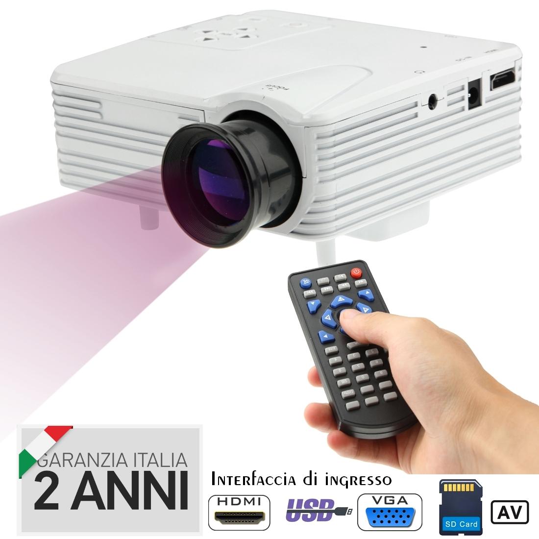 Mini Proiettore Hd Led Video Projector Videoproiettore