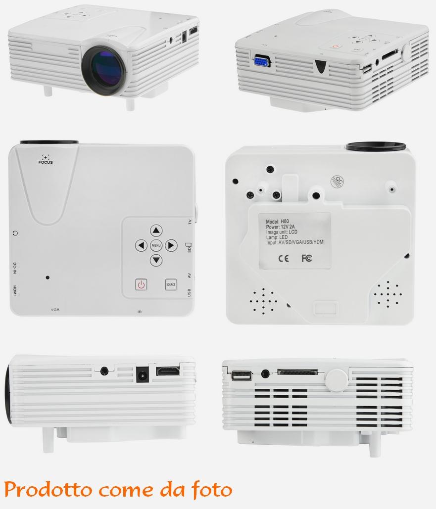 Mini Proiettore Led