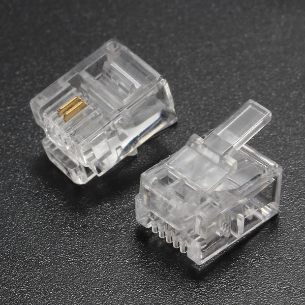 Plug Rj11 4P2C