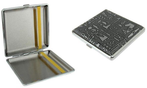 Portasigarette in metallo