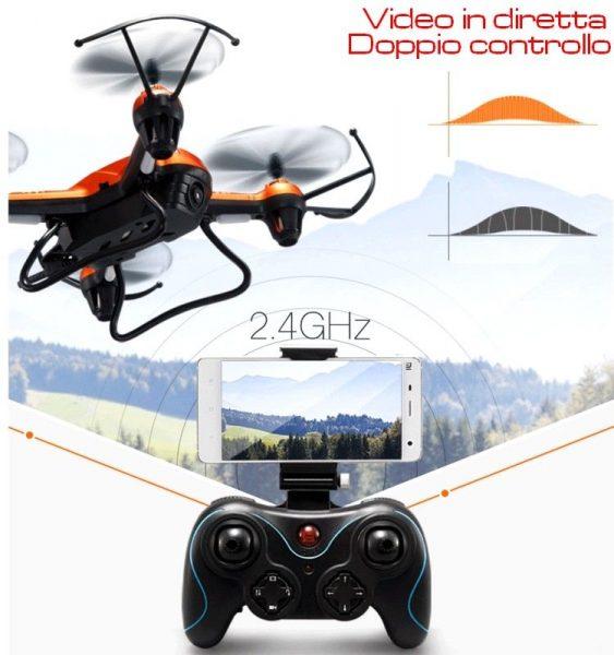 Mini drone con telecamera