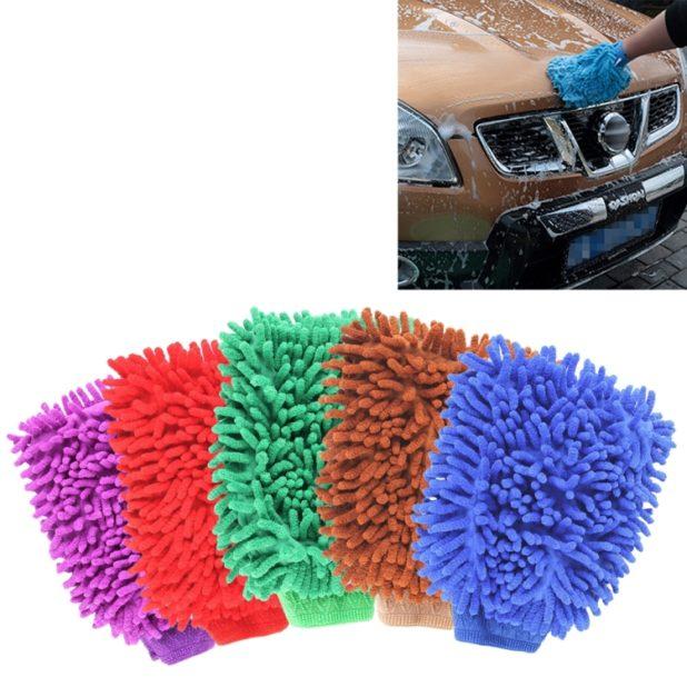 Guanto lavaggio auto