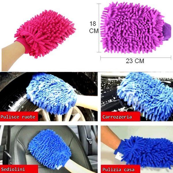 Guanto per lavare auto