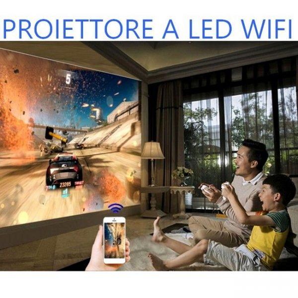 Videoproiettore Led Wifi