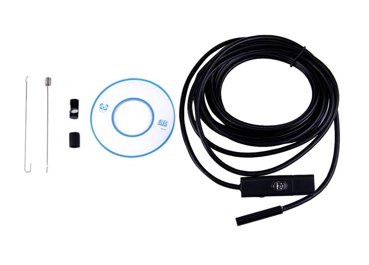 Sonda telecamera idraulico