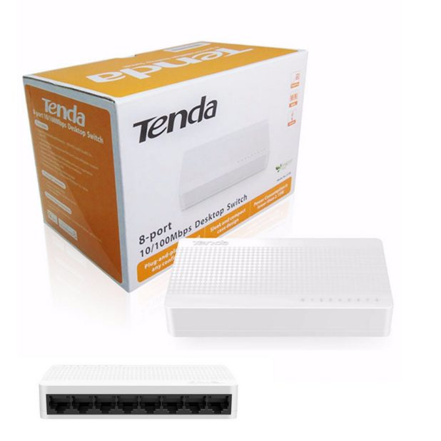 Ethernet Network Switch 8 porte.