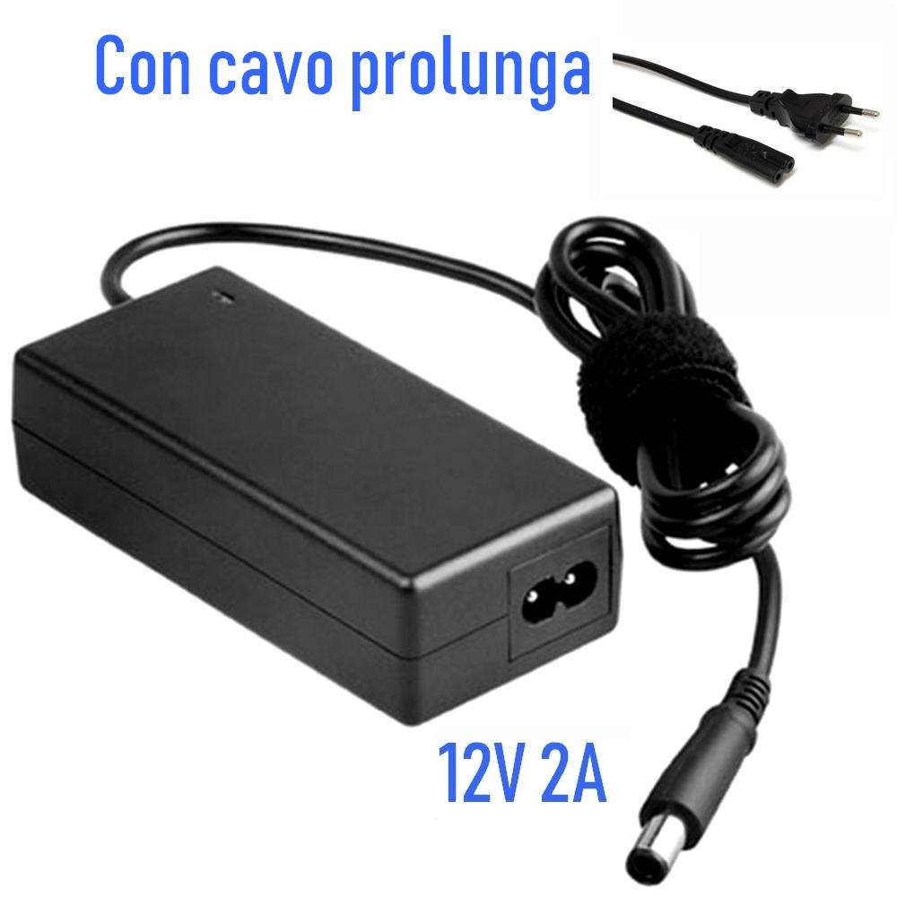Alimentatore 12V 2A Ampere per Apparecchiature elettroniche.
