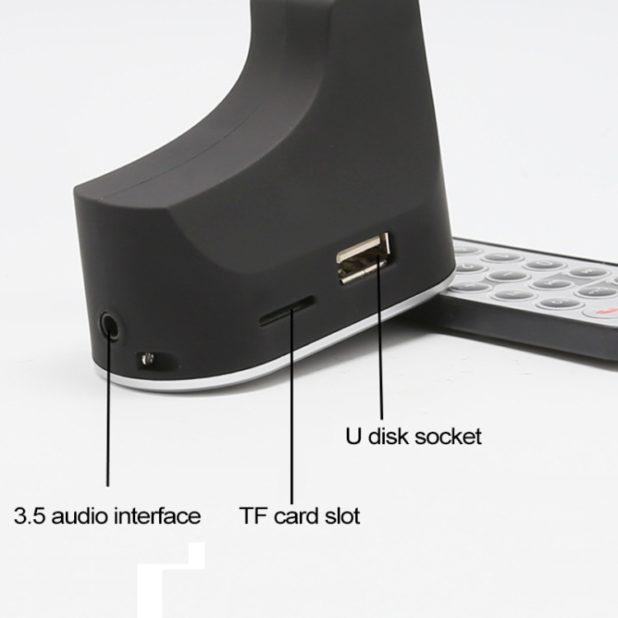 Trasmettitore FM Bluetooth con Telecomando.