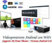 Videoproiettore android wifi