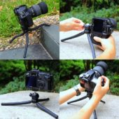 Treppiede macchina fotografica